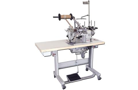 1300/1 AUTOMATIC SEWING UNIT FOR ATTACHING ZIPPER TO FLY FOR TROUSERS